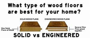 what is the difference between engineered and solid With what is the difference between hardwood and engineered wood floors
