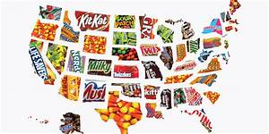 MAP: The most popular Halloween candy in every US state ...