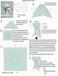 Origami Jellyfish Step