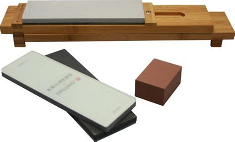 bob kramer adjustable bamboo sink bridge bob kramer by zwilling j a henckels 6 pc glass water stone