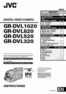 Gr-dvl1020 Manuals