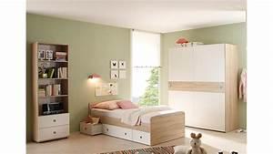 Jugendbett Weiß 90x200 : jugendbett wiki in eiche sonoma und wei 90x200 cm ~ Orissabook.com Haus und Dekorationen