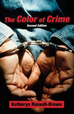 the color of crime the color of crime 1998 book