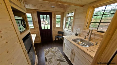 tiny house trailer interior tiny houses  wheels floor plans  house building plans