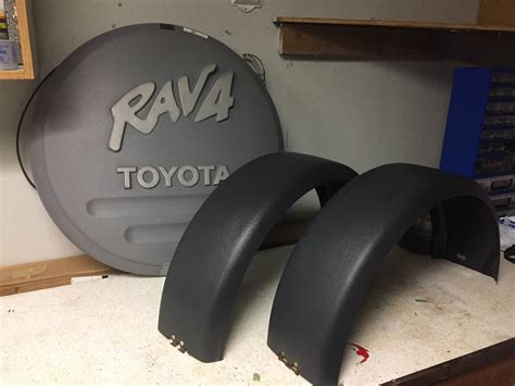 1998 rav 4 1 oem soft and spare tire covers toyota