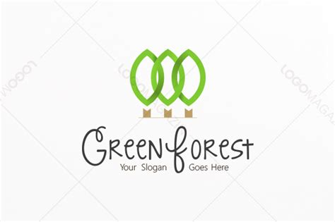 Green Forest Logo  Logo Templates On Creative Market