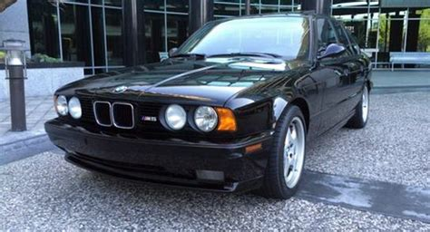 1993 Bmw M5 With 9,801 Miles Will Cost You More Than A