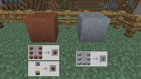 clay pot recipe minecraft anvil