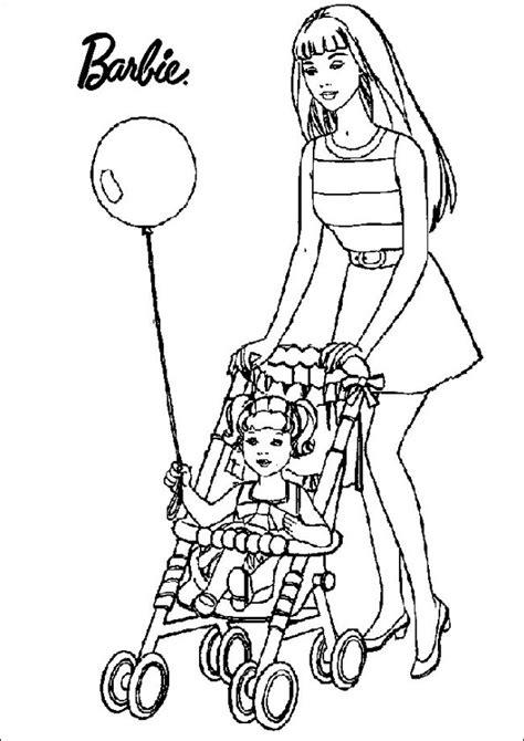 ausmalbilder barbie  ausmalbilder kinder
