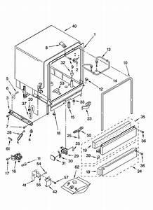 Whirlpool Model Du945pwsq0 Dishwasher Genuine Parts