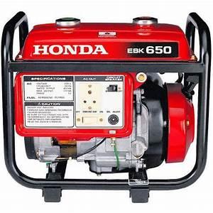 Honda Power Generator  220v  Rs 28000   Unit  Vcs Power Solution