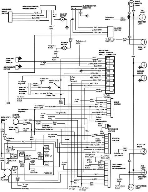 1980 ford truck cowl foldout wiring diagram f600 f700 f800