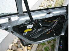 BMW E39 Ausbau Tür Türverkleidung hinten