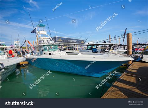 Boat Shows In Florida In February by Usa Florida Miami February 17 2017 Stock Photo 596697182