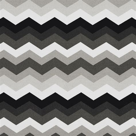 Grey And White Chevron Fabric by Chevron Outdoor Indoor Upholstery Fabric Black Grey And