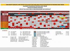 Kalender Pendidikan Provinsi Jawa Timur Tahun 20182019