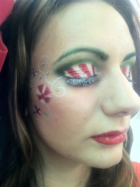 bloomin couch christmas makeup     level