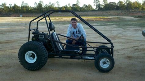 For Sale. Off-road Rigged Go Kart. Engine In This Picture
