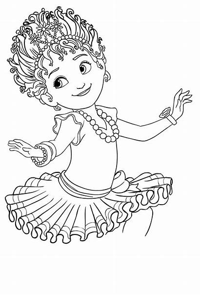Nancy Fancy Coloring Clancy Drawing Colorare Disney