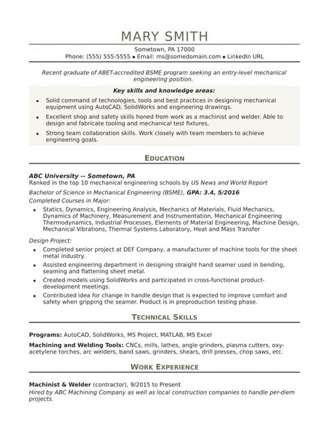 Mechanical engineer resume samples and writing guide for 2021. Proper Mechanical Engineering Student Resume Examples ...