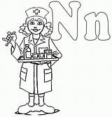 Nurse Coloring Drawing Colouring Night Cliparts College Clipart Shift National Printable Police Activity Male Preschool Station Nurses Learning Workers Activities sketch template