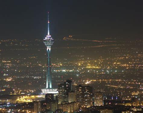 Milad Tower Tehran Iran Go To Iran