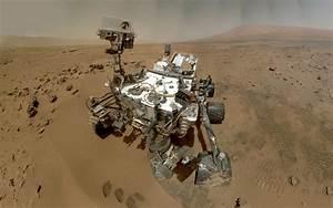 Curiosity Mars Rover Machine Alien Landscape NASA HD ...