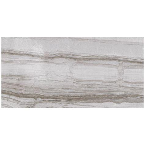ceramic tile home depot marazzi vitaelegante grigio 12 in x 24 in porcelain