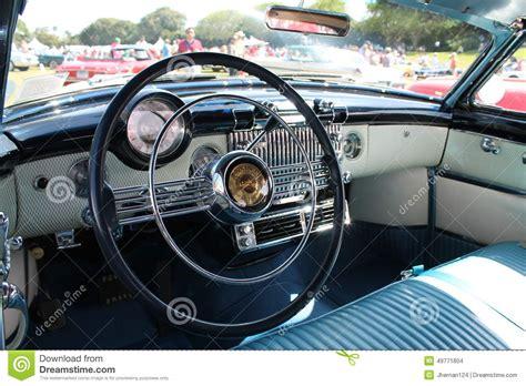 Cars Interior Classic : Car Interior Classic Americana Editorial Stock Image