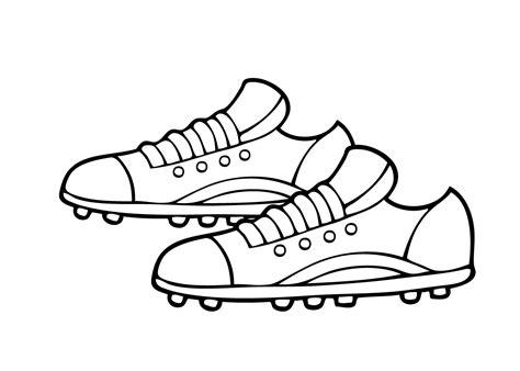 Hakken Schoenen Kleurplaat by Kleurplaten Schoenen Kleurplaat Voetbal 28