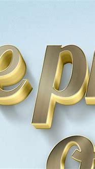 3D Gold Text Mockups on Behance