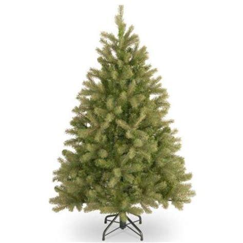 home depot 9 foot douglas fir artificial treee 4 5 ft unlit feel real downswept douglas fir artificial