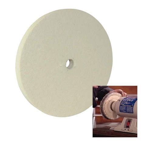 Polishing Wheel For Bench Grinder by Felt Buffing Wheel 150 Mm 6 Quot For Polishing Most Metals