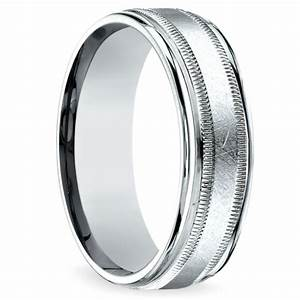 swirl milgrain men39s wedding ring in palladium With palladium wedding ring men