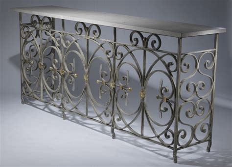 Wrought Iron Console Table Ideas Design — Console Table