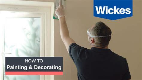 prepare walls ceilings  painting  wickes