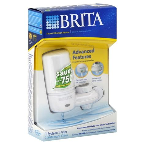 brita on tap water filter system advanced features
