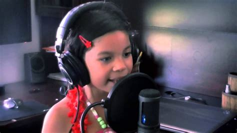 Just don't expect them to be very good at it, and be patient. Halo - Beyonce (Cover by Alessandra 7 yrs old) - YouTube