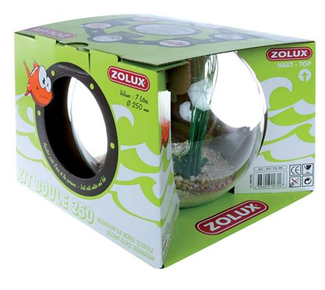 kit boule aquarium poisson neptune animaloo