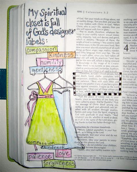 bible journaling gods designer label art   word