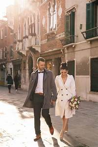 gorgeous venice elopement belle the magazine With winter courthouse wedding dress