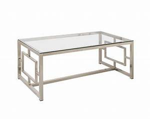 Coffee tables ideas modern glass and silver coffee table for Contemporary wood coffee tables and end tables
