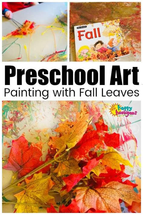 fall leaf crafts  activities  kids   happy