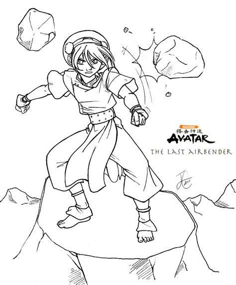 Avatar Kleurplaat by Avatar Coloring Pages Az Coloring Pages Anime