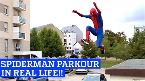 Spiderman Parkour in Real Life! ? 1Funny.com