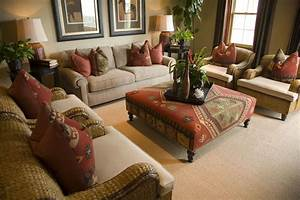 50, Beautiful, Living, Rooms, With, Ottoman, Coffee, Tables