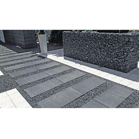 schwarz weiß 40 x 40 terrassenplatten ehl terrassenplatte altano grau anthrazit 40 x 80 x 5 cm