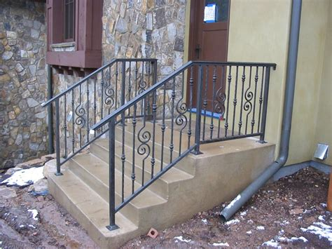 Outdoor Stair Railing Metal
