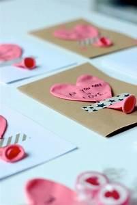 Diy Geschenke Für Den Freund : schnell selbstgemacht karten zum valentinstag f r den partner f r die familie f r freunde ~ Frokenaadalensverden.com Haus und Dekorationen