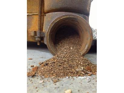 Iron Cast Boiler Debris Fig Water Hydronic